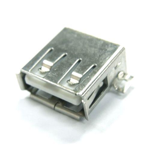 USB-Aコネクタ(SMT,メス)4+1個パック--販売終了