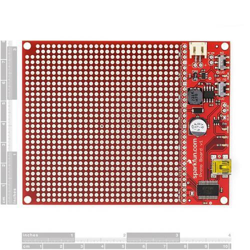 プロトボード「コアラ」USBシリアル+ユニバーサルボード--販売終了