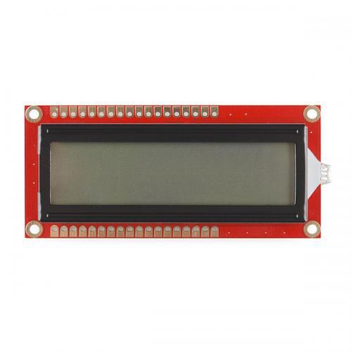 16×2キャラクター LCD 5V版 RGBバックライト付