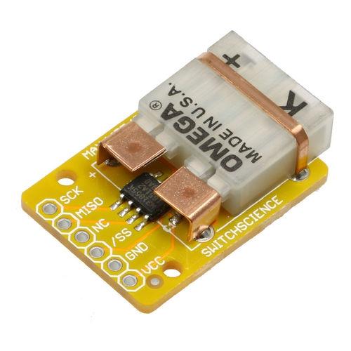 K型熱電対温度センサモジュールキット(SPI接続)MAX31855使用 3.3V版