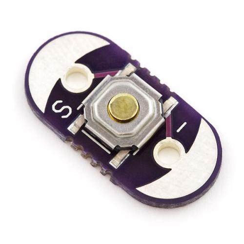 LilyPad押しボタンスイッチ