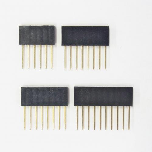 Arduinoシールド用ピンソケットのセット(R3対応)