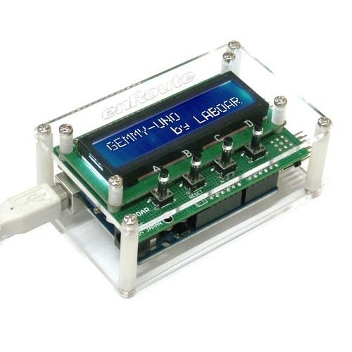 Arduino用GEMMY-UNOシールドキット(アクリル板付き)--販売終了